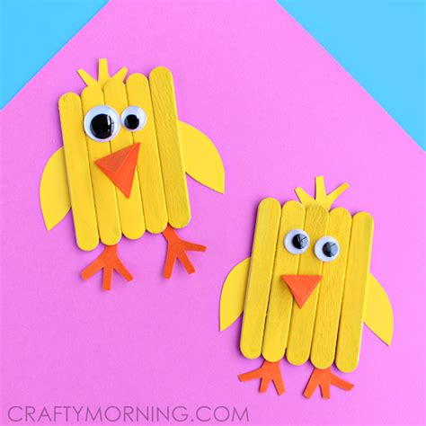 craft with popsicle sticks mini popsicle stick craft crafty morning
