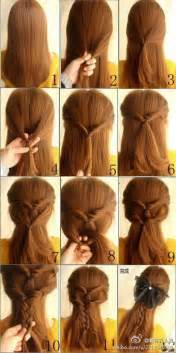 easy hairstyles for hair cute simple hairstyles for long hair