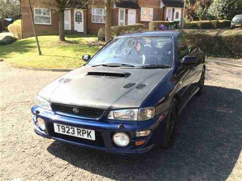 subaru impreza modified blue subaru 1999 impreza turbo 2000 awd blue td05 turbo