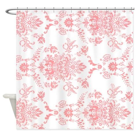 pink damask shower curtain pink damask shower curtain by theshowercurtain