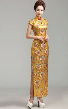 Promo Setelan Anak Qi Pao Gold asian formal dress chic brocade cheongsam eaststore desires in clothing