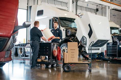 repair maintenance parts services  volvo trucks calgary
