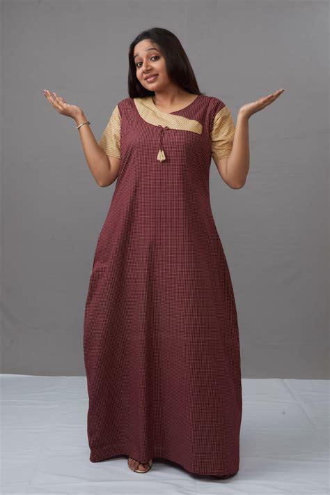nighty gown design indian nighty designs