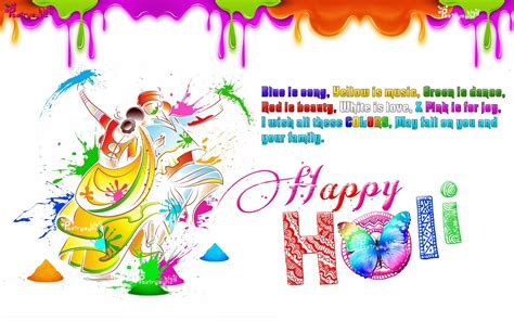 holi wallpaper girl and boy happy holi 3d girl boy playing holi colours wishes hd wide