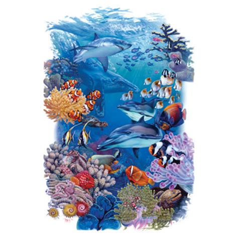 coral reef tattoo coral reef undersea world t shirt