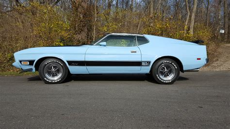 Ford Mustang Mach 1 by Baby Blue 1973 Ford Mustang Mach 1 Could Be Yours For