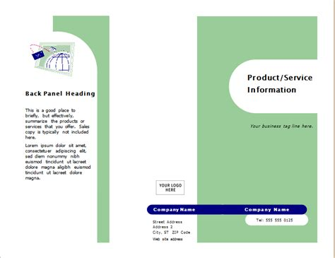 5 Service Information Brochure Templates Free Sle Templates Information Booklet Template