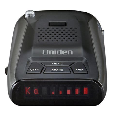 radar detector ebay uniden dfr5 radar detector with voice alert ebay