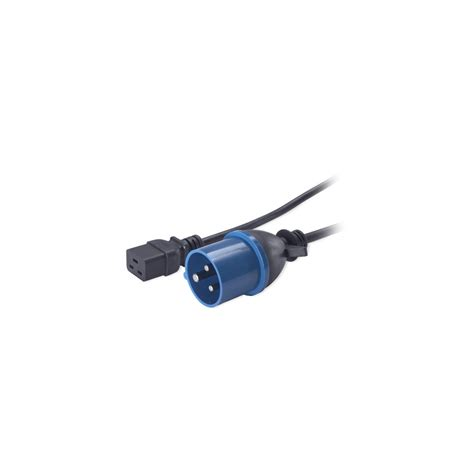 Apc Power Cord C13 To C14 2 5m ap9876 apc power cord c19 to iec309 16a 2 5m betsis
