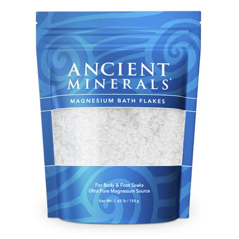 Magnesium Chloride Best Foe Cellular Detoxing by Ancient Minerals Magnesium Bath Flakes 1 65lbs