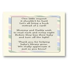 ideas baby shower invitations bring a book