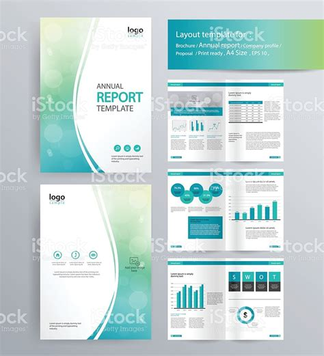 layout of an annual report page layout for company profile annual report and brochure