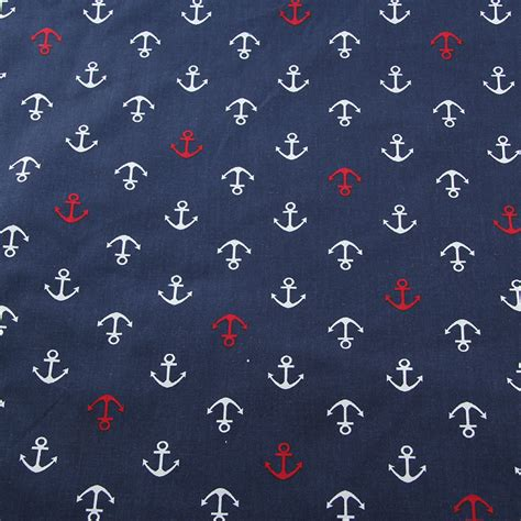 good 1pc 160 50cm cotton jersey fabric 100 organic cotton 100 cotton fabric navy series patchwork quilting cloth