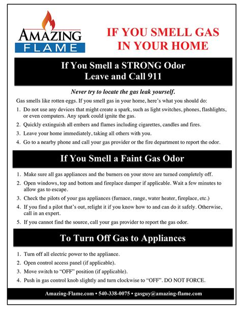 What To Do If You Smell Gas In Your House by Faq