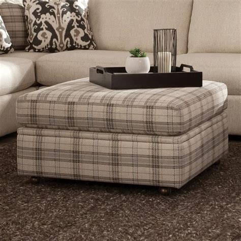 square ottoman with casters stoney creek furniture transform your home with one