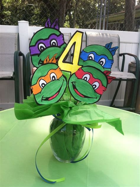Turtle Table Decorations by 30 Cool Mutant Turtles Ideas Shelterness