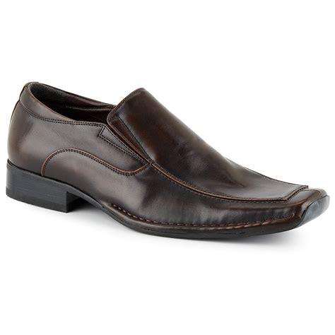 borelli mens miami slip on square toe loafer shoes ebay