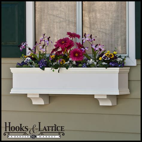 window flower box flower box flower boxes window flower box hooks lattice