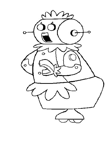 coloring pages of the jetsons jetsons coloring pages coloringpagesabc com