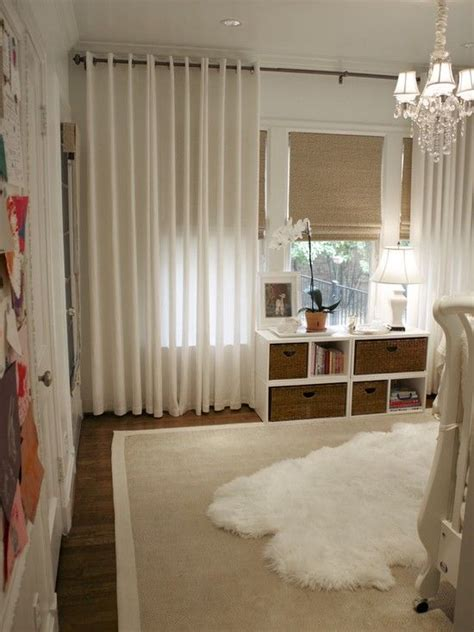 design drapes and decor traditional spaces woven shades drapes white design