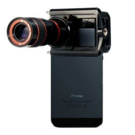 Mobile Phone Telescope 8x Zoom Buy 8x Optical Zoom Telescope Lens With Holder For