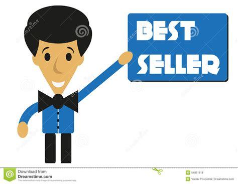 best seller pr best seller stock illustration image 54851918