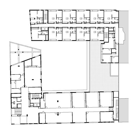 housing planner gallery of 154 rental social housing and building for the barcelona municipal housing