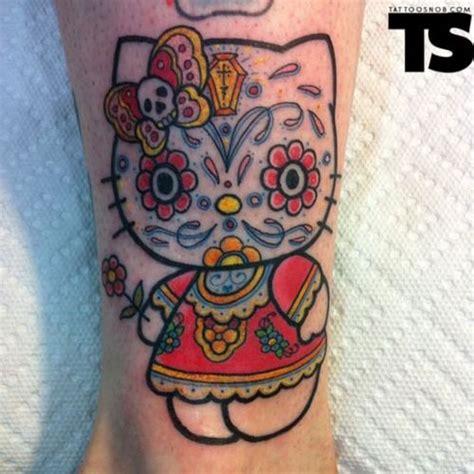 cat tattoo hawaii 31 best birthday inspiration hello kitty day of the dead