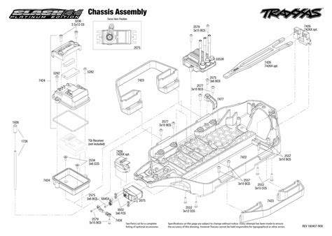 traxxas slash diagram exploded view traxxas slash platinum 1 10 4wd vxl lcg pnd