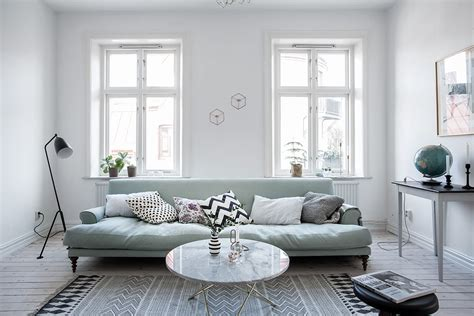 mint green sofa mint green sofa in a light home coco lapine designcoco