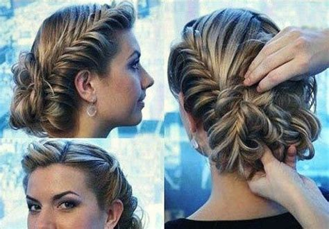 Simple Fancy Hairstyles by Prom Hairstyles Updos Simple Hairstyle Ideas For