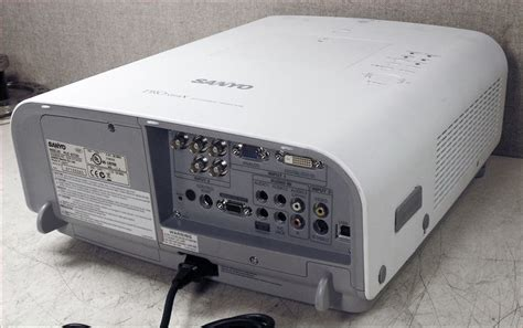 sanyo pro xtrax multiverse projector l replacement uw auction pro xtrax multiverse projector 44982