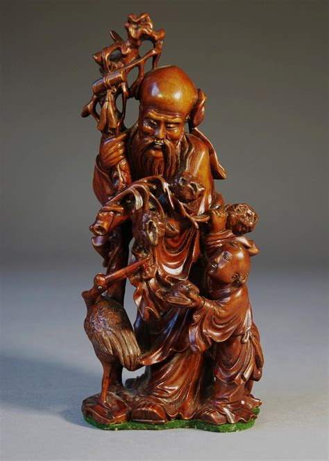 thc finely carved chinese root carving  wood carvings