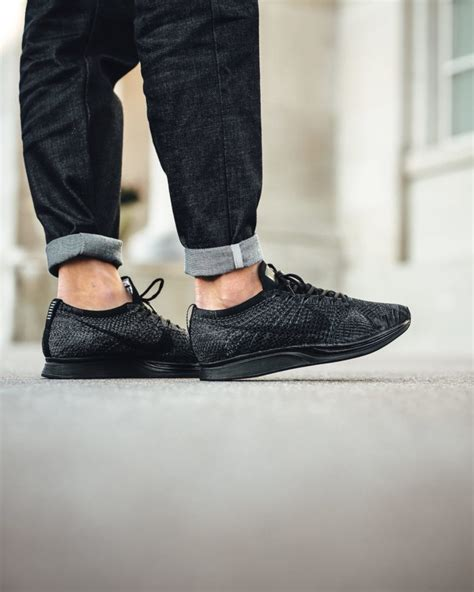 Nike Flyknit Racer Black Out For 1 nike flyknit racer black release reminder
