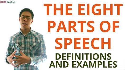 parts  speech grammar lesson noun verb pronoun