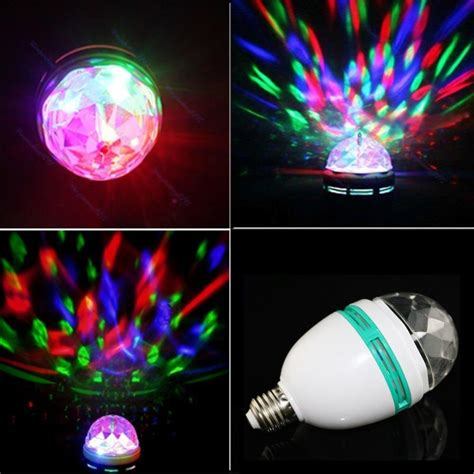 rotating led disco light lightahead 174 rotating strobe led crystal stage light for