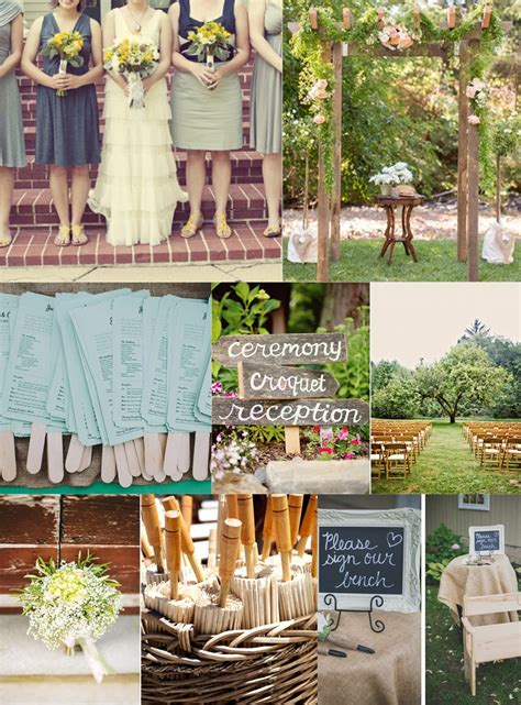 Backyard Wedding How To Essential Guide To A Backyard Wedding On A Budget
