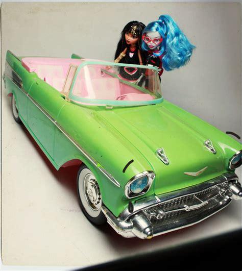 barbie 57 chevy monster high dolls