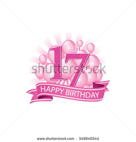 Happy 17th Birthday Wishes 17th Birthday Stock Images Royalty Free Images Vectors