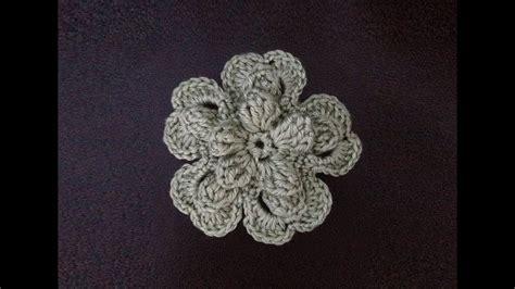 crochet flower pattern on youtube how to crochet a flower pattern 77 by thepatternfamily