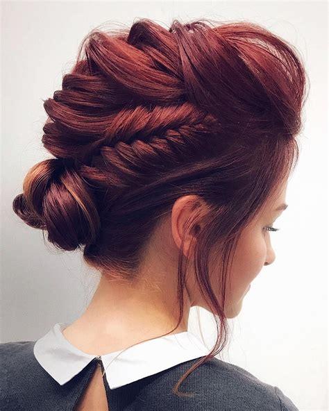 gorgeous feminine braided updo wedding hairstyles unique wedding hairstyles up dos and unique