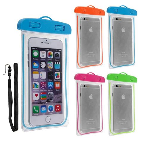 Waterproof Mobile Phone Pouch noctilucous waterproof underwater pouch bag pack