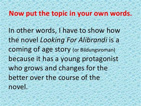 Looking For Alibrandi Essays by Looking For Alibrandi Essay Help