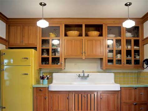 arts and crafts style kitchen cabinets kitchen cabinet styles bungalow kitchen cabinets arts and