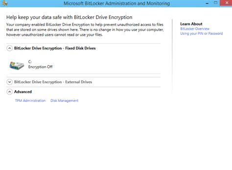 Mba M by Mbam 2 5 Client Not Show Turn On Bitlocker