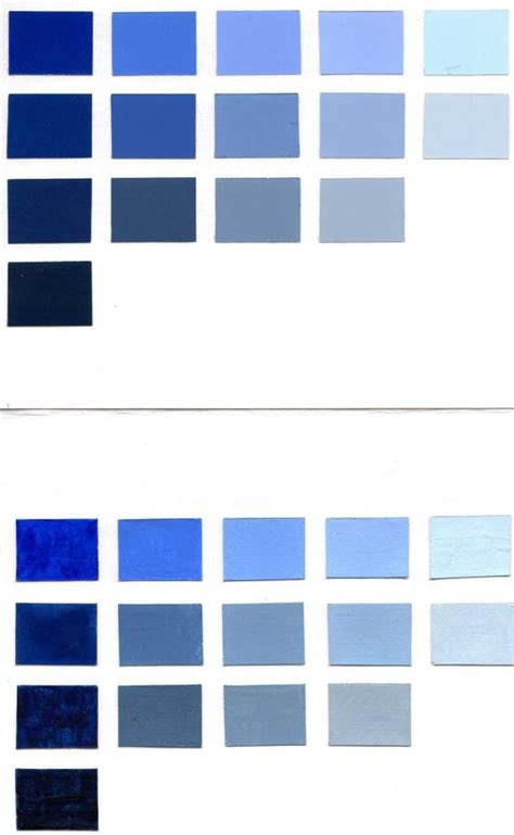 color aid paper blue color chart in color