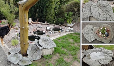 Cement Garden Decor 15 Awesome Diy Backyard Ideas