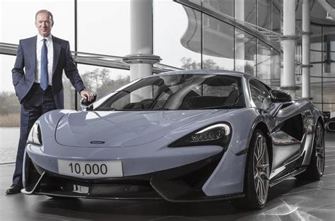 mclaren ceo mclaren automotive considers floating company on