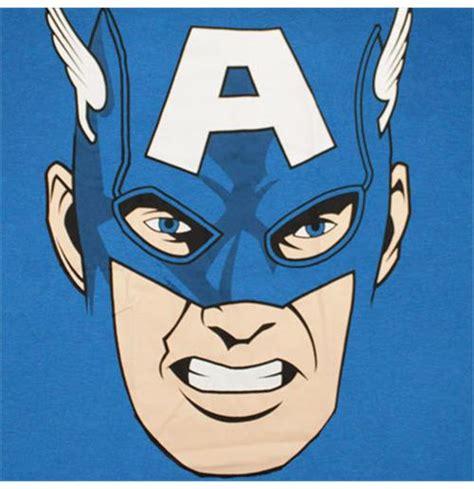 Jumbo Capt America captain america jumbo comic royal blue graphic t shirt for only 163 17 74 at