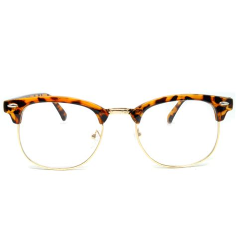 Kacamata Wanita Semi 3 kacamata vintage pria wanita brown jakartanotebook